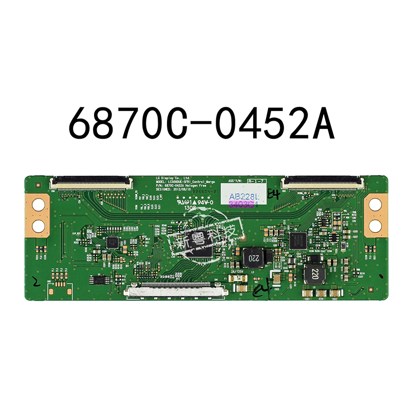 US $8 75  For 42LN5100 CP 6870C 0452A Screen Panel LCD LC500DUE SFR1 LED TV  Controller Board T con converter board logic board-in Replacement Parts &