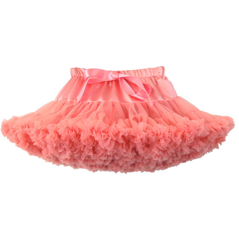 Tutu skirt women tulle Fluffy Mini Pettiskirt Princess Party adult Dance Short Skirts Performance Cloth LG078