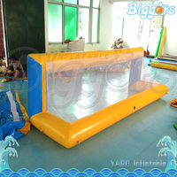 Durable PVC Material Inflatable Small Football Door Soccer Goal For Outdoor Game