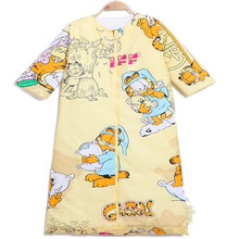 Cotton autumn witter baby sleeping bag for children to play by the spring and autumn winter baby big baby sleeping bag