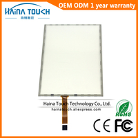 Win10 Compatible 5 Wire 10 4 Resistive USB Touch Screen Panel For Photo Kiosk Laptop PC