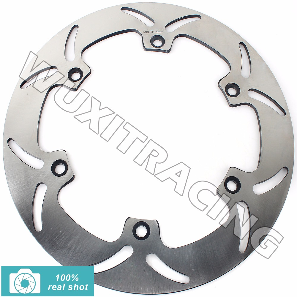 Rear Brake Disc Rotor for HONDA ST 1100 1300 A P PA Pan European / ABS 90 91 92 93 94 95 02-13 VTX 1800 C F N R S T 2002-2011 keoghs real adelin 260mm floating brake disc high quality for yamaha scooter cygnus modify