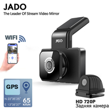 JADO Car DVR Camera Parking-Monitor Dash-Cam WIFI Speed-N Night-Vision Coordinates GPS