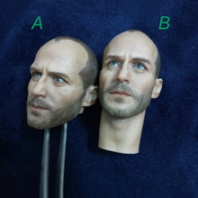 1/6 Newest Style Jason Statham Head Model Toys for 12''Male Action Figures Bodies(China)