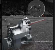 PARD Pred инфракрасный телескоп ночного видения Охота ночное видение набор прицел цифровой HD ночное видение Охота специальный