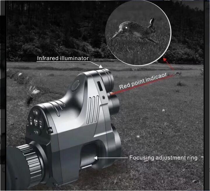 PARD Pred infrarouge Vision nocturne télescope chasse Vision nocturne ensemble vue numérique HD Vision nocturne chasse spécial