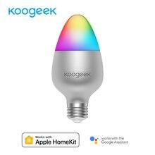 Koogeek E26 E27 8W Âm Trần Wifi Đèn Nhà Thông Minh Led 16 Triệu Màu Cho Apple HomeKit Từ Xa Siri điều Khiển Chỉ Dành Cho IOS