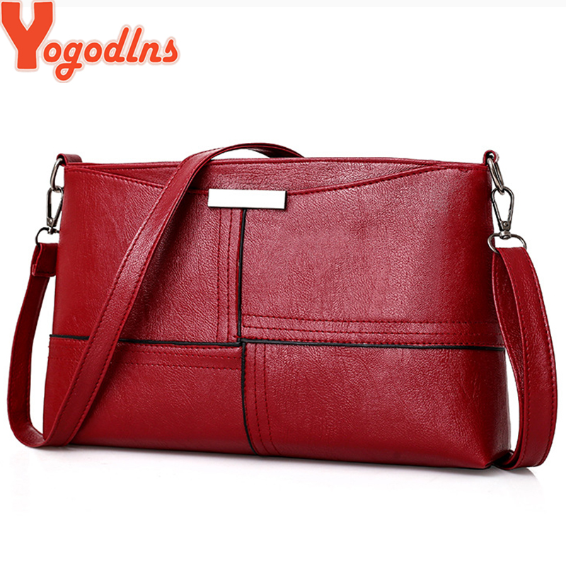 Yogodlns Women Clutch Casual Tassel Handbags Female Designer Bag PU Leather Plaid Messenger Bag Small Square Shoulder Packag
