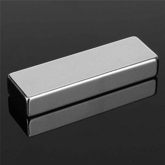 1pc 60 x 20 x 10mm N52 Block Magnets Super Strong Cuboid Rare Earth Neodymium Magnets 60mm x 20mm x 10mm Magnet High Quality