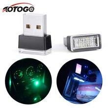 Подсветка авто авто свет 1 шт. портативный автомобильный светодиодный светильник, декоративная лампа с Разъемы USB, аварийное освещение, автомобильный Стайлинг для авто