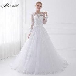 Miaoduo vestido de noiva vestido de noiva vestido de noiva com decote em v