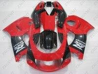 Обтекатель Наборы GSX R 600 1996 2000 красный черные кузовные комплекты GSXR 600 98 99 Обтекатели для Suzuki GSXR600 1999