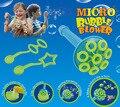 1 set Cikoo Micro Bubble Blower Bubbles set kids toy 100 ml 22.5 cm Children Gazillion soap bubbles tool set