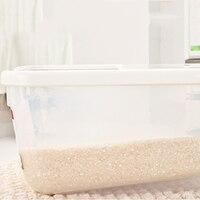 Pet Dog Plastic Storage Bowls Dry Food Container Feeder Cat Food Panier Pour Chien Comedero Pets Supplies 60A0672