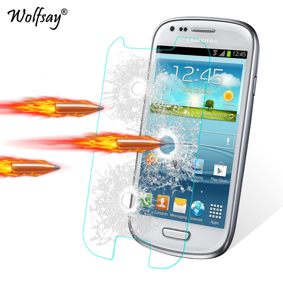 Galleria fotografica 2pcs Screen Protector sFor Glass Samsung Galaxy S3 Mini Tempered Glass for Samsung Galaxy S3 Mini I8190 Protective Film S3 Mini