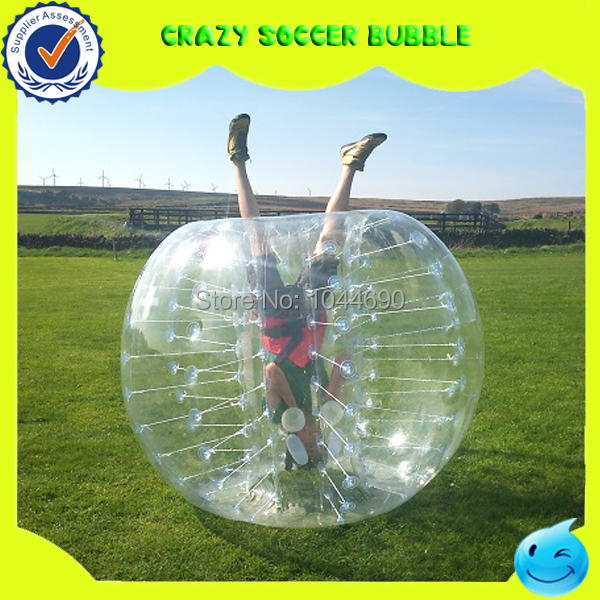Super duel free shipping loopy bubble ball soccer inflatable human ball