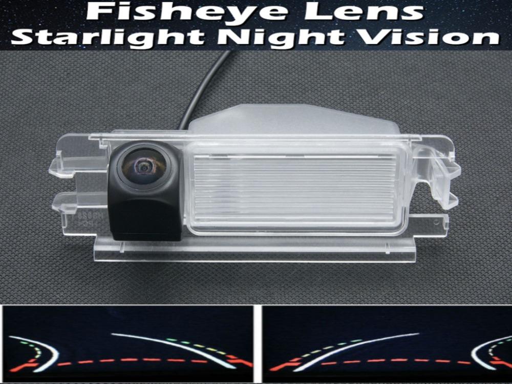 1080P Fisheye Lens Trajectory Tracks Car rearview camera for 2013 Renault Dacia Duster Night Vision Reverse Parking Car Camera