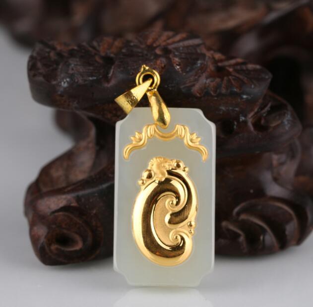 Jade pendentif pour Collier femme