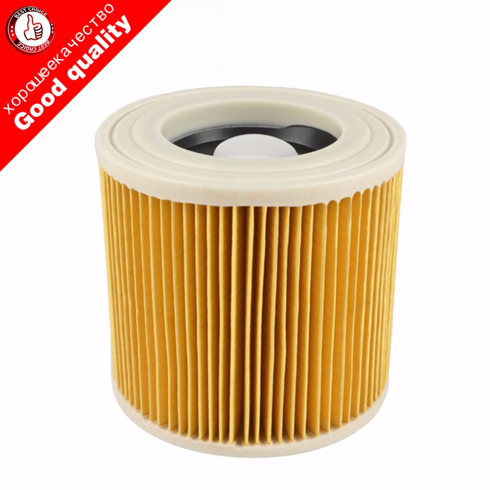 TOP quality replacement air dust filters bags for Karcher Vacuum Cleaners parts Cartridge HEPA Filter WD2250 WD3.200 MV2 MV3 WD3
