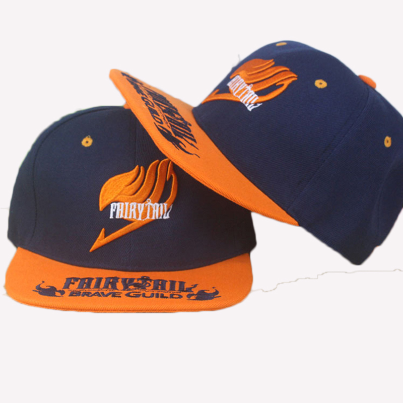 Anime Fairy Tail cotton baseball cap Sun hat cosplay gift Hip-hop NEW Fashion 2015