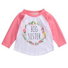 Baby Children T-Shirt Autumn Clothing Newborn Toddler Kids Baby Girls Long Seelves Baby Shirt Outfits Clothes T-shirt Tops 0-5T