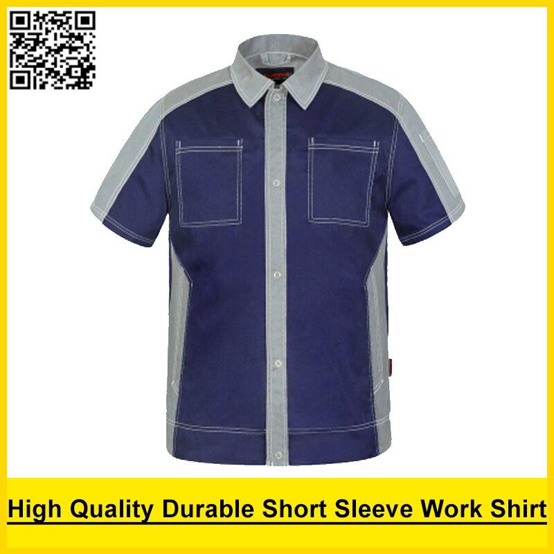 SPARDWEAR Men's short sleeve polo shirt High quality work shirt work shirt engineer uniform jacket mechanic polo shirt spardwear waterproof high visibility