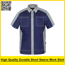 SPARDWEAR Men's short sleeve polo shirt High quality  work shirt  work shirt engineer uniform jacket mechanic polo shirt