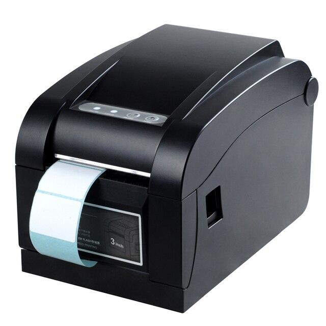 Прямая Термопечать Линия 3 ~ 5 Дюймов/Sec USB порт Штрих Принтер Этикеток, тепловые штрих XP-350B ШТРИХ-код принтер