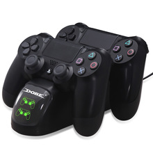 Gamepad Snel Opladen PS4 Dock Dual Controllers Charger Laadstation Standhouder Base voor PS4/Pro/Slim