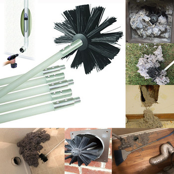 New Chimney Brush Boiler Brush Set Household industrial chimney boiler dryer cleaning Dryer Duct Cleaning Kit #KC31 honda odyssey