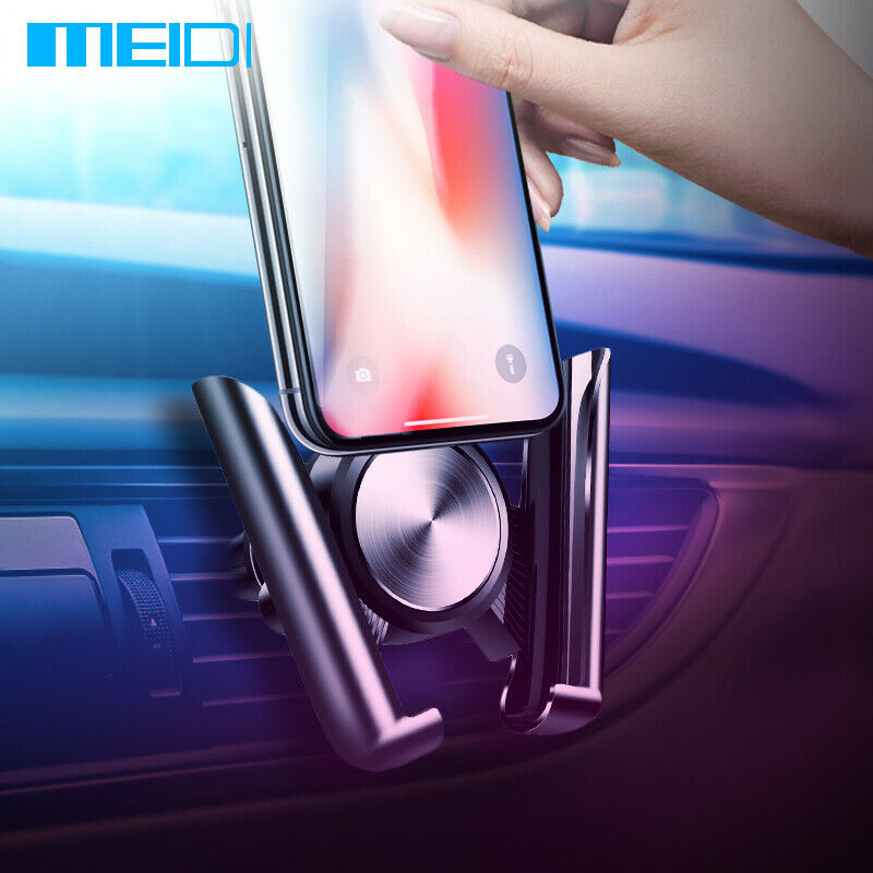 MEIDI Car Bracket For Mobile Telephone Air Vent Mount Cradle Universal Car Phone Holder For IPhone Sumsang Xiaomi HUAWEI