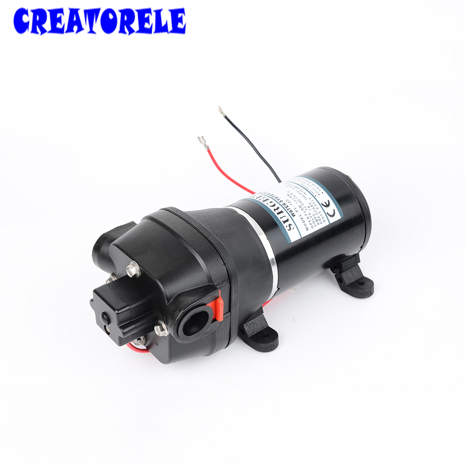 FL-100 DC 24V Submersible Diaphragm 100PSI FLush pump for Yacht/Automotive 60m lift High Pressure water pumps self-priming 0 75kw self priming water pump for high rise wells in the river lake 220v household jet garden pump 4 5m3 h big capacity