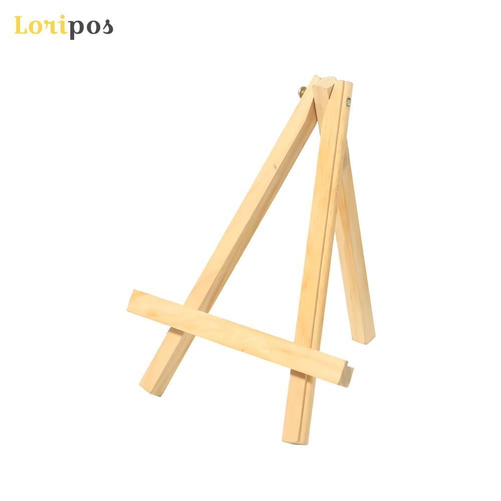 Small Easel Desktop Oil Paiting Bracket Wooden Mini Wood Display Easel Wood Easels Set For Paintings Craft Small Plate Holder