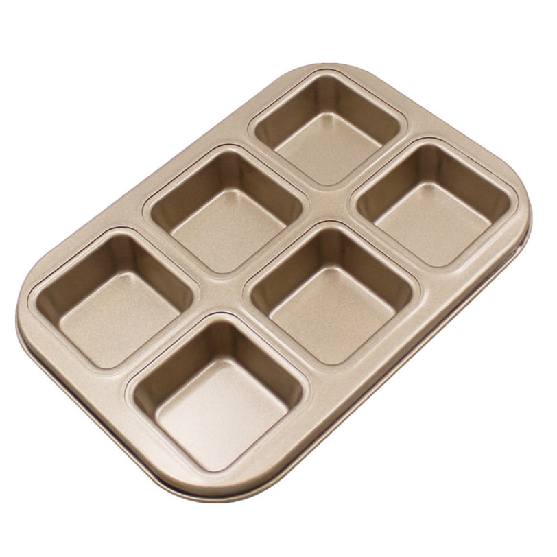 Square Bread Molds Baking Tray Carbon Steel Nonstick Bakeware Pan Tray Cake Mould DIY Baking Tools 9J17