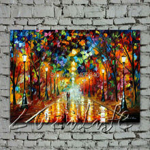 farewell to anger Oil painting Palette knife oil painting art knife oil painting on canvas hight Quality Hand-painted Painting4