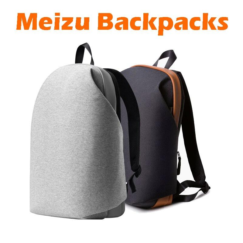 Оригинал Meizu рюкзаки Для женщин Для мужчин школьный рюкзак краткое стиль Xiaomi студент игровой Сумки ноутбук 15.6 дюймов для Ipad Macbook мешок
