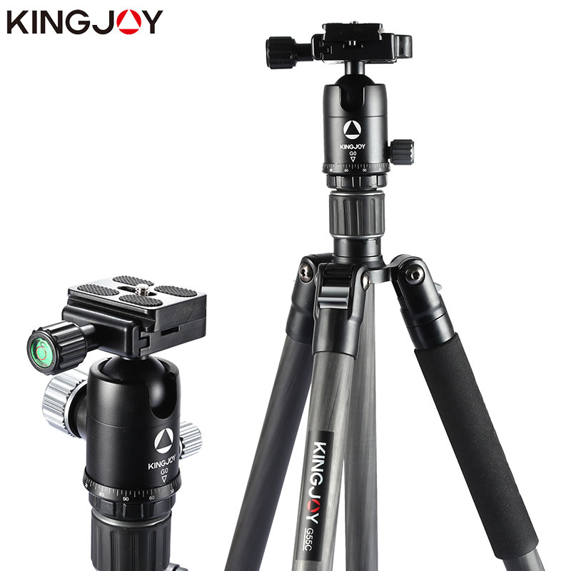 KINGJOY G55 Camera Tripode Flexible Stand Monopod Dslr For All Models Professional  Video Para Movil Flexible Tripe Stativ Mini