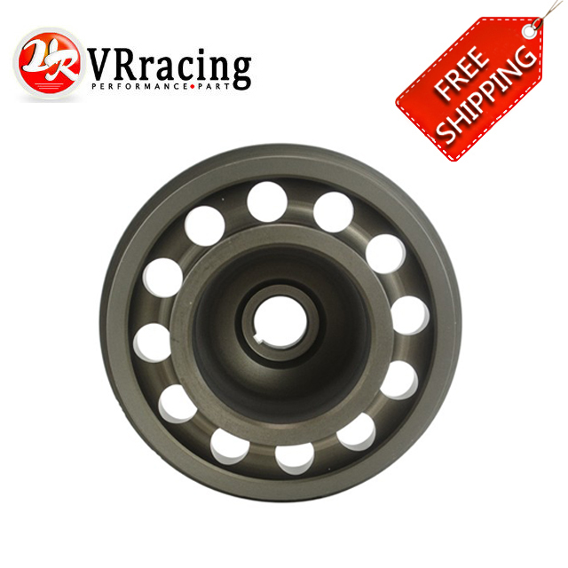 VR RACING - FREE SHIPPING For Civic SOHC D16 Racing Light Weight Aluminum Crankshaft Pulley OEM Size 92-95 VR-CP009 vr racing hnbr racing timing belt