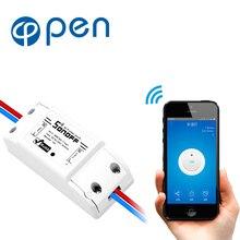 Basic Wireless Wifi Switch Remote Control Automation Module DIY Timer Universal Smart Home 10A 220V AC 90-250V 2pcs lot cdebyte e18 ms1 ipx spi smd 2 4ghz cc2530 wireless zigbee smart home automation module