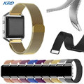 Wholesale 50Pcs/Lot DHL Free 9 colors Milanese Magnetic Loop  Stainless Steel Watchband Wrist Band Strap For Fitbit Blaze watch