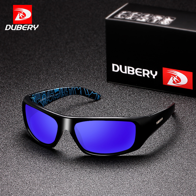 7dc55b55f0 DUBERY 2018 Men s Polarized Sunglasses Aviation Driving Shades Male Sun  Glasses Men Retro Sport Luxury Brand