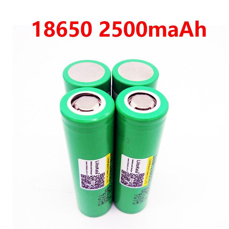 Liitokala For Samsung 18650 2500mah INR1865025R 20A discharge lithium batteries electronic cigarette Battery 18650 2500 25R 1pcs for samsung original 18650 25r inr1865025r 20a discharge lithium batteries 2500mah electronic cigarette power battery