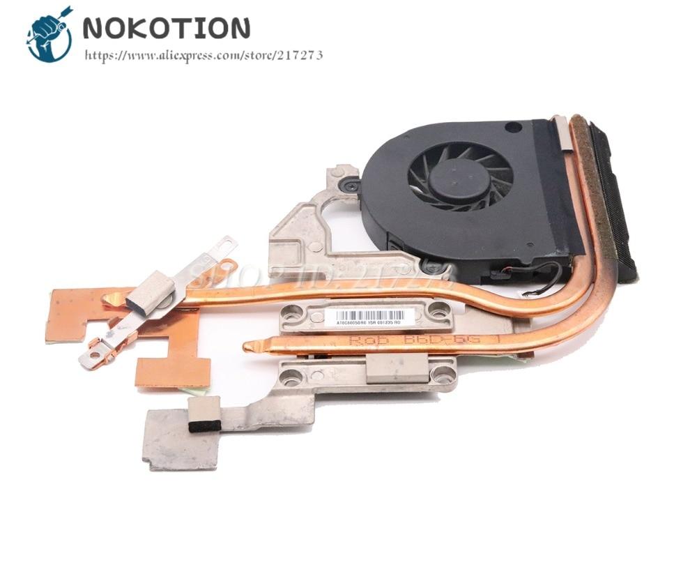 NOKOTION AT0C6005DR0 Radiator For Acer Aspire 5551G 5552G Laptop Heatsink Cooling Fan LA-5911P