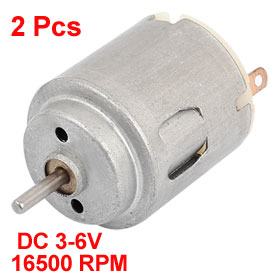 DC 3-6V 16500 RPM Rotary Speed High Torque Micro Motor for RC Toys