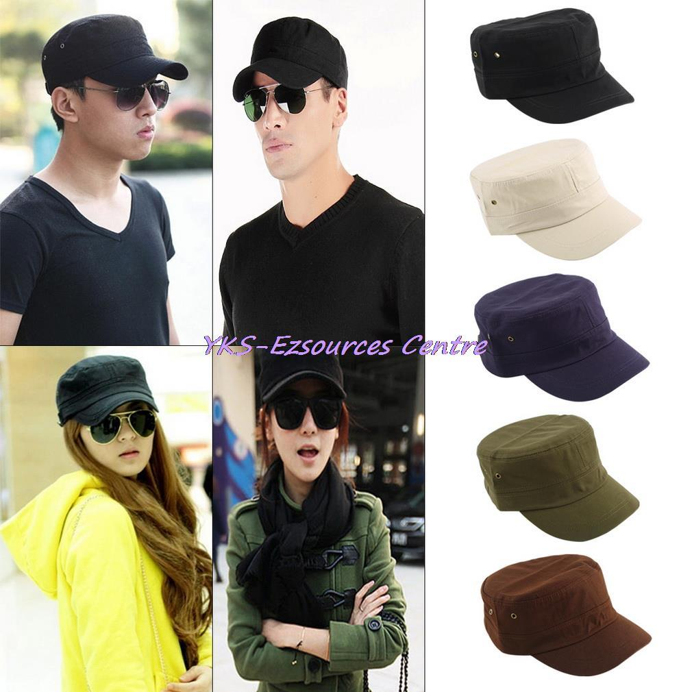 5449c01a4d3 2017 Men Women Casual Baseball Cap Classic Hat Preppy Style Adjustable Army  Plain Vintage Hat Cadet Caps Multicolor Sun proof-in Baseball Caps from  Apparel ...