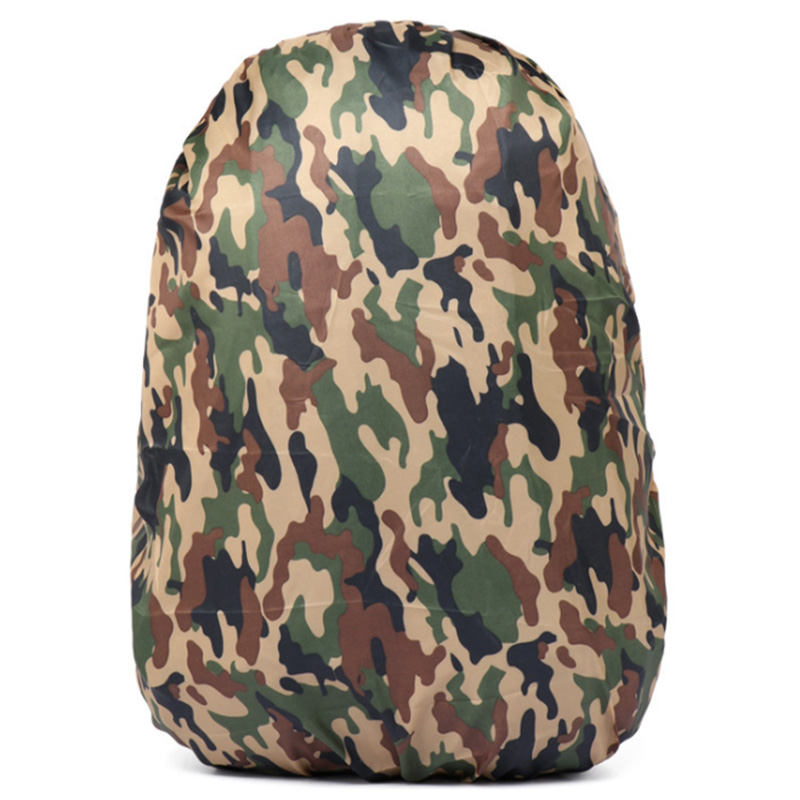 Backpack Camouflage Rain Cover 30L 40L Nylon Waterproof Backpack Rain Rucksack Anti Storm Water Cover For