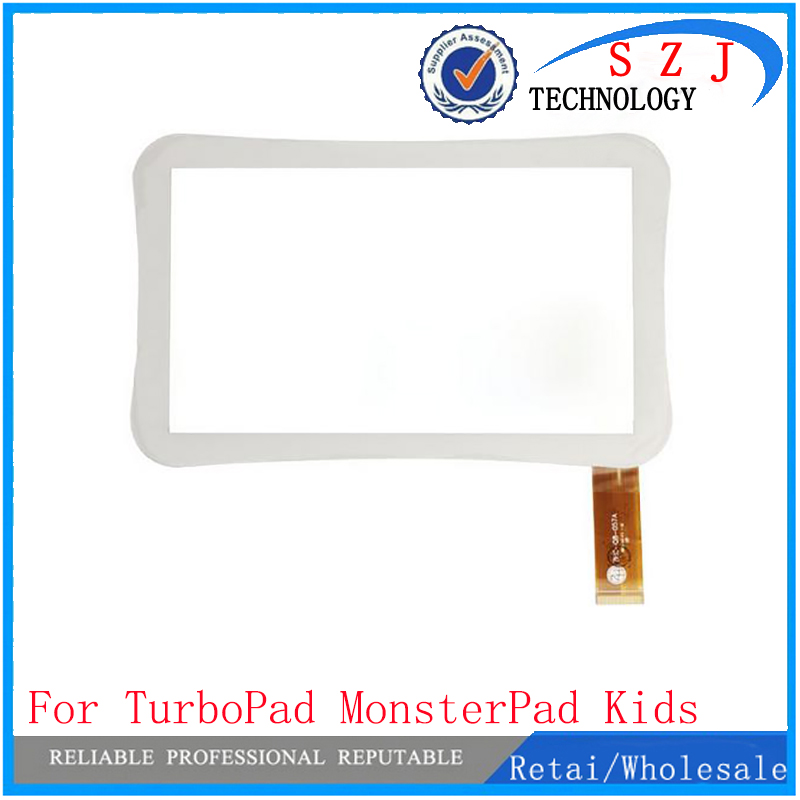 New 7 inch TurboPad MonsterPad Kids Tablet touch screen panel Digitizer Glass Sensor replacement WJ915-FPC-V1.0 Free Shipping new 7 inch touch screen for supra m728g m727g tablet touch panel digitizer glass sensor replacement free shipping