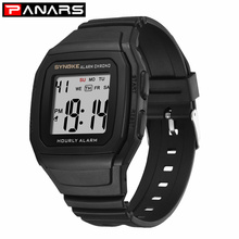 PANARS Men's 9023 Sport Watch With Black Band Electronic Watch