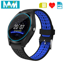 MMN V9 Smart Watch With Camera Bluetooth Smartwatch SIM Card Wristwatch for Android Phone Wearable Devices PK Q18 X6 DZ09