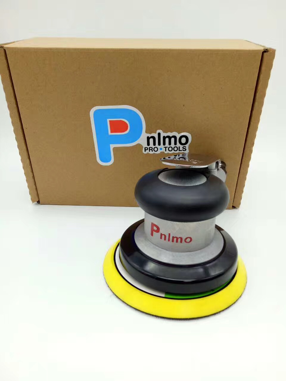 Pneumatic Sanders TAIWAN Pnomo Air Tools Palm Random Orbital Sander Polisher 5 Inch Circle Round Pad OSN-50HE VE 125mm hilda 5inches random orbital air for palm sander